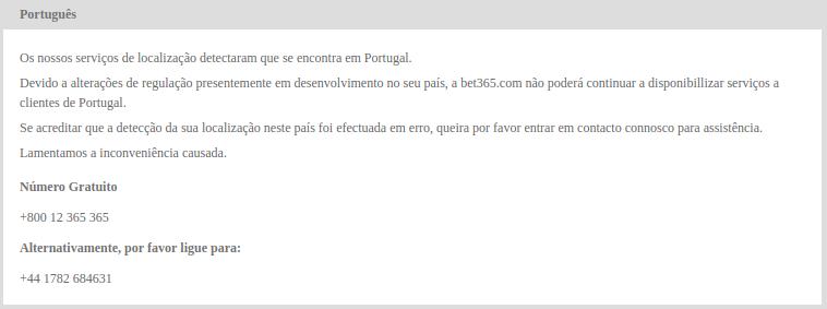 Bet365 em Portugal