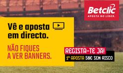 Betclic: Primeira aposta de 20€ sem risco