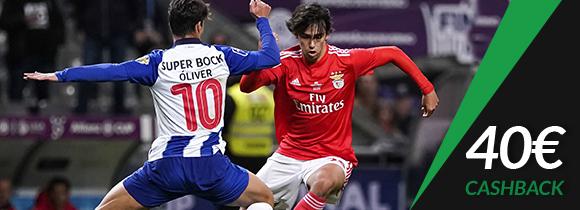 Cashback Porto Benfica