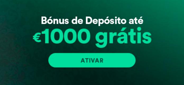 bonus de 1º deposito no casino solverde online: 1.000€