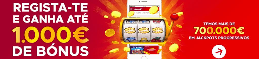 bónus de casinos até 1.000€