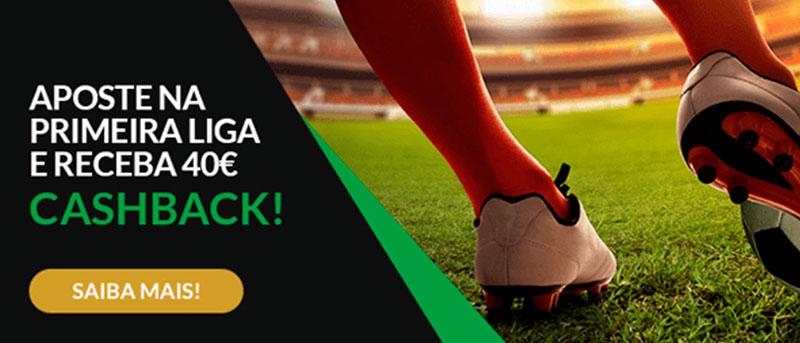 CASHBACK 1ª Jornada da Liga Portuguesa- Aposta Sem Risco até 40€