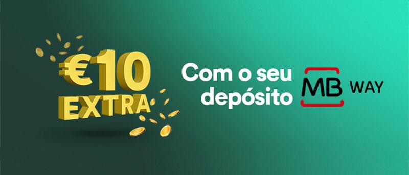 Bónus 10€ Extra Grátis – Casino Solverde e MBWay