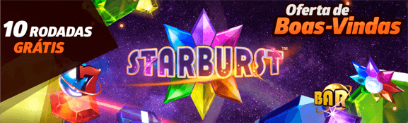 10 rodadas grátis slot starburst