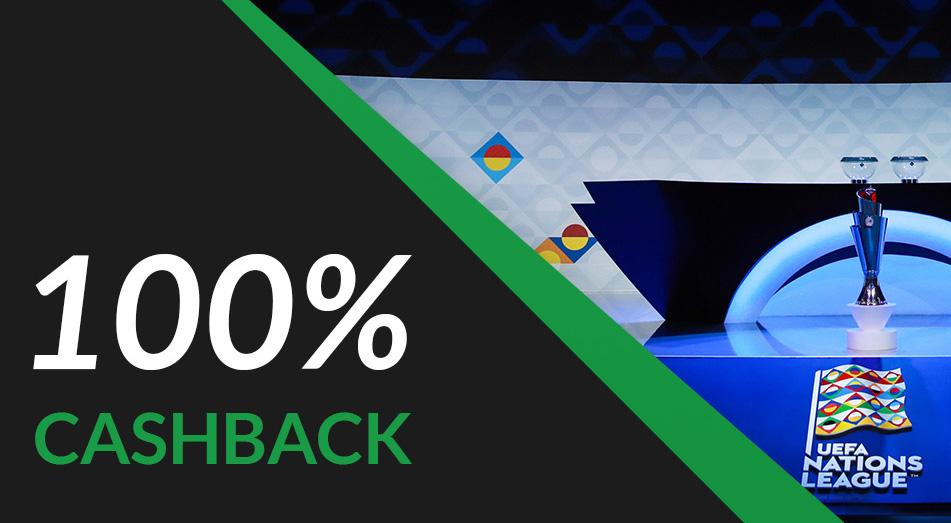 cashback 100% ligas das nações esc online