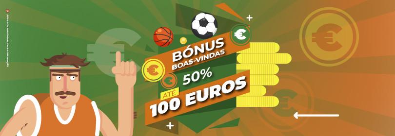 codigo bonus nossa aposta bonus100 - 50% até 100 euros