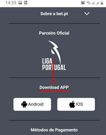 Bet.pt App Download