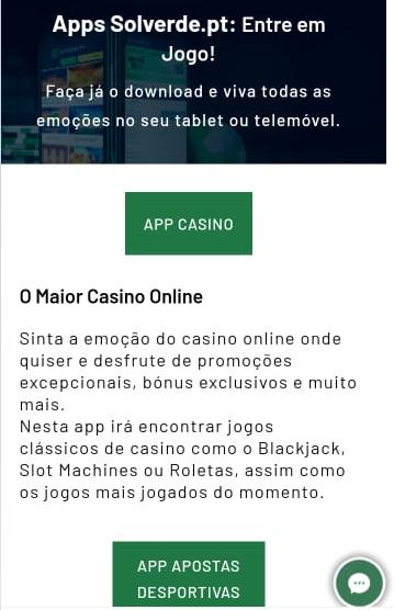Solverde Online App