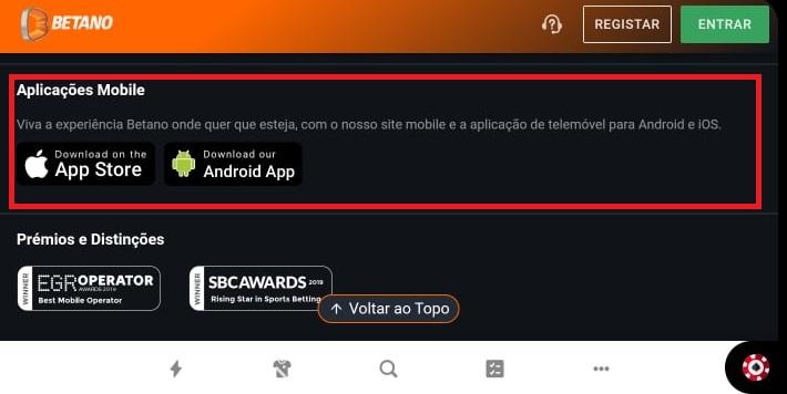 Betano App Download