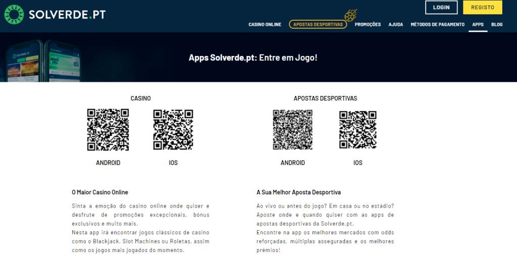 Solverde Casino App