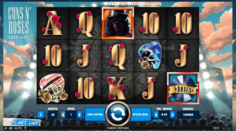 Slot Guns N Roses Bet.pt