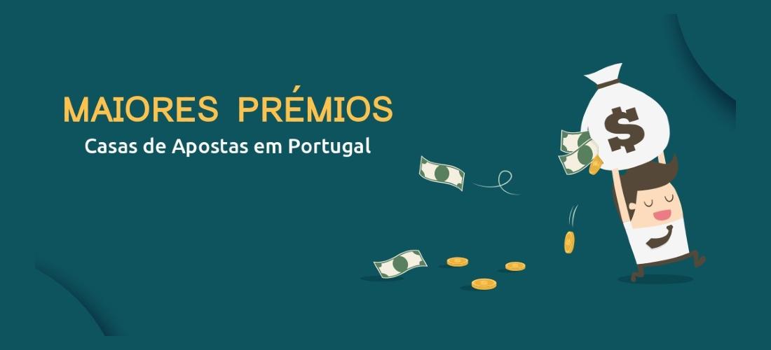 Os Maiores Prémios Pagos em Casas de Apostas em Portugal
