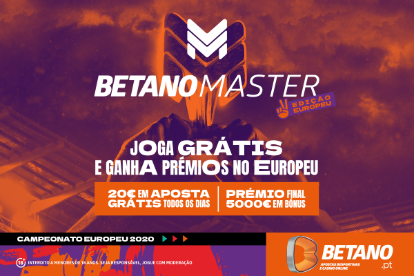 Apostar no Euro 2020 - Betano Master