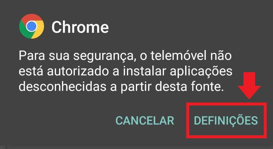 Download da App Betano - Autorização da Instalação